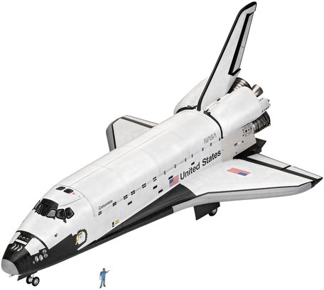 Revell Space Shuttle 40th. Anniversary 1:72