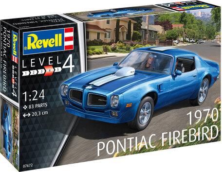 Revell Pontiac Firebird 1970 1:24