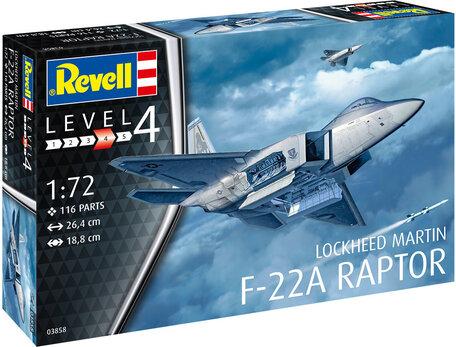 Revell Lockheed Martin F-22A Raptor 1:72