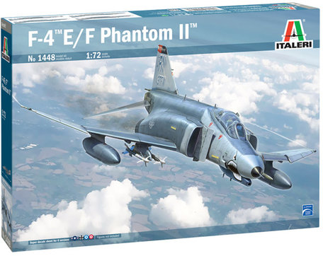 Italeri F-4E/F Phantom II 1:72