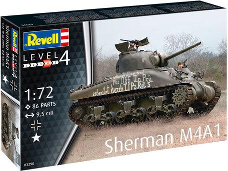 Revell Sherman M4A1 1:72