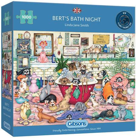 Gibsons Bert's Bath Night (1000)