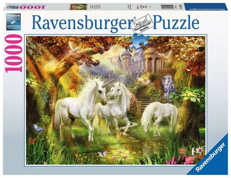 Ravensburger Eenhoorns in de Herfst (1000)