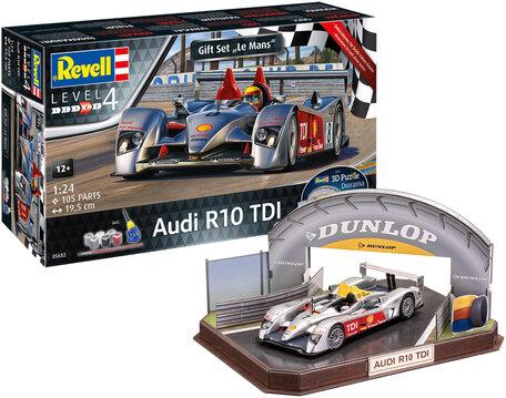 Revell Audi R10 TDI LeMans + 3D Puzzle 1:24