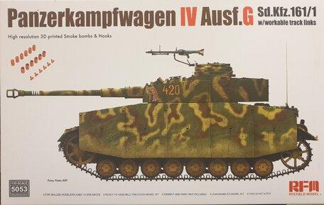 RFM Panzerkampfwagen IV Ausf. G Sd.Kfz. 161/1 1:35