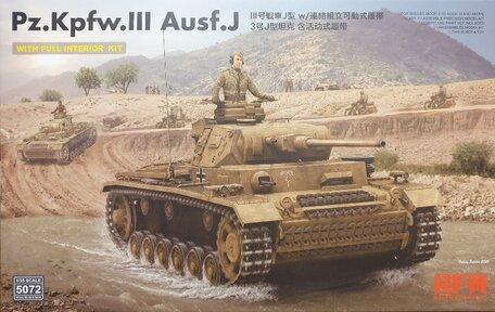 RFM Pz.Kpfw. III Ausf. J 1:35