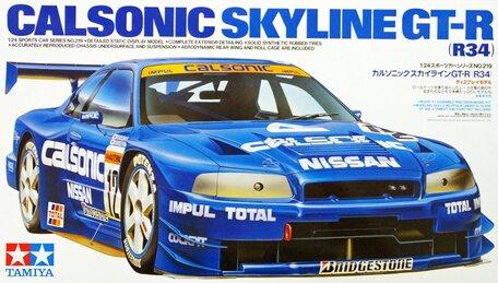 Tamiya Calsonic Skyline GT-R (R34) 1:24