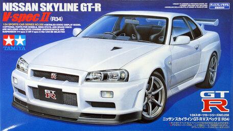Tamiya Nissan Skyline GT-R V Spec II (R34) 1:24