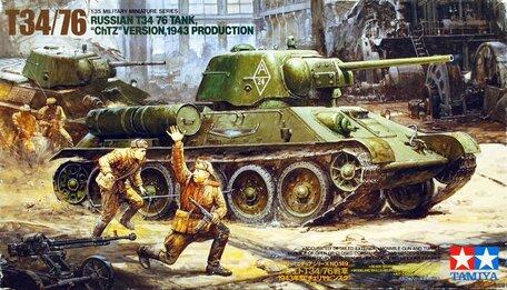 Tamiya T34/76 Tank ChTZ 1:35