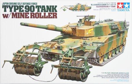 Tamiya JGSDF Type 90 Tank with Mine Roller 1:35