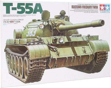 Tamiya Russian Medium Tank T-55A 1:35
