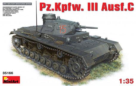 MiniArt Pz.Kpfw.III Ausf.С 1:35