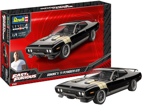 Revell Fast & Furious - Dominic's 1971 Plymouth GTX 1:24