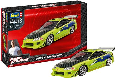 Revell Fast & Furious Brian's 1995 Mitsubishi Eclipse 1:25