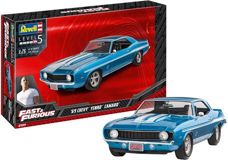 Revell Fast & Furious 1969 Chevy Camaro Yenko 1:25