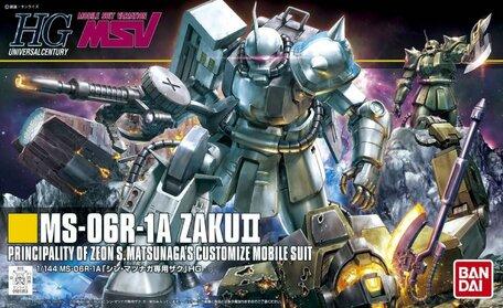 HG 1/144: MS-06R-1A Zaku II