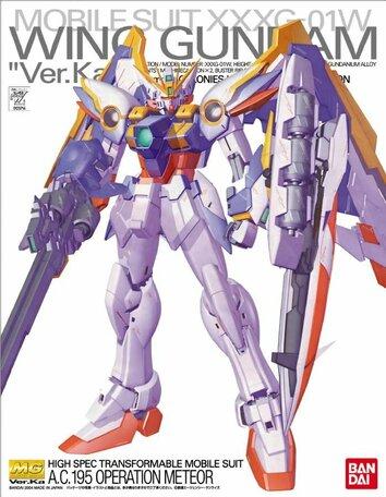 MG 1/100: XXXG-01W Wing Gundam Ver.Ka