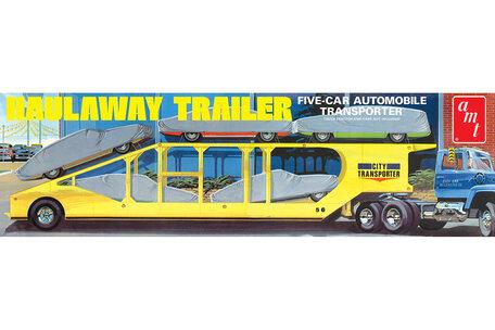 AMT 5-Car Haulaway Trailer 1:25