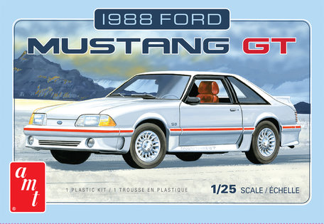 AMT Ford Mustang 1988 1:25