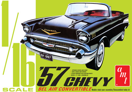AMT Chevy Bel Air Convertible 1957 1:16