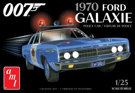 AMT Ford Galaxie Police Car 1970 James Bond 1:25