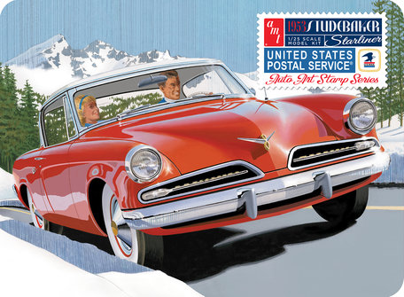 AMT 1953 Studebaker Starliner Tin Box 1:25