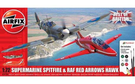 Airfix Best of British Spitfire and Hawk 1:72