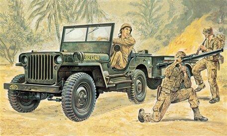 Italeri Willys Jeep 1:35