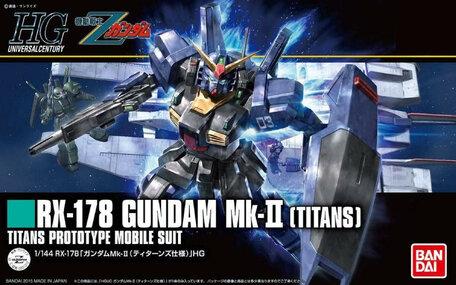 HG 1/144: RX-178 Gundam Mk-II Titans
