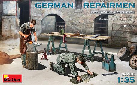MiniArt German Repairmen 1:35