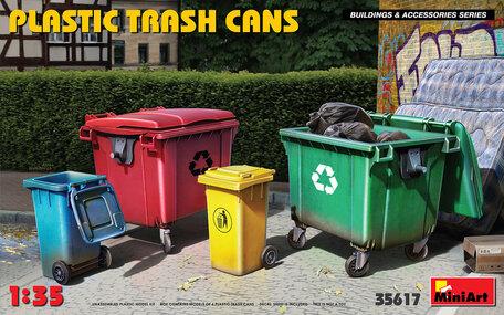MiniArt Plastic Trash Cans 1:35