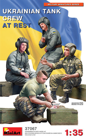 MiniArt Ukrainian Tank Crew at Rest 1:35
