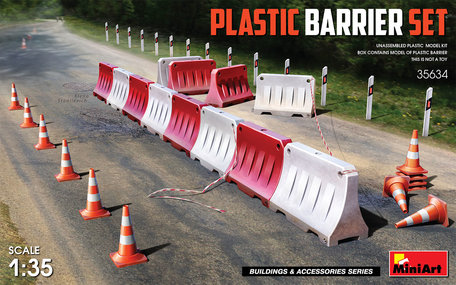 MiniArt Plastic Barrier Set 1:35