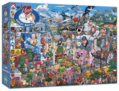Gibsons I Love Great Britain (1000)