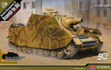 Academy German Sturmpanzer IV Brummbar 1:35