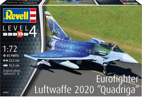 Revell Eurofighter Luftwaffe 2020 Quadriga 1:72