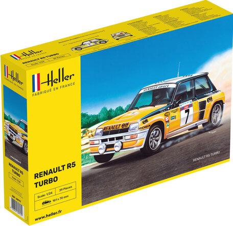 Heller Renault R5 Turbo 1:24