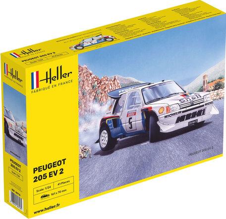 Heller Peugeot 205 EV 2 1:24