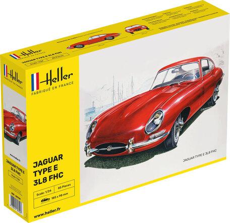 Heller Jaguar Type E 3L8 FHC 1:24
