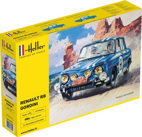 Heller Renault R8 Gordini 1:24
