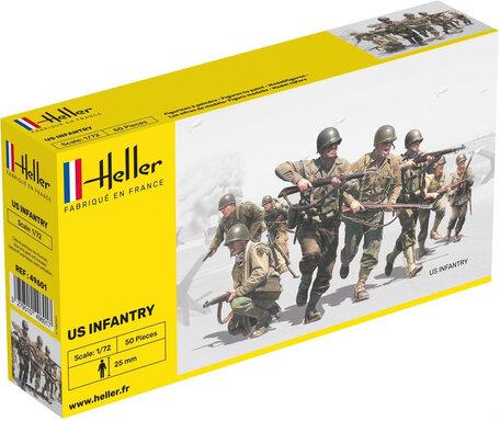 Heller US Infantry 1:72