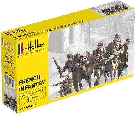 Heller French Infantry 1:72