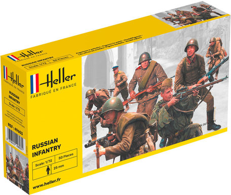 Heller Russian Infantry 1:72