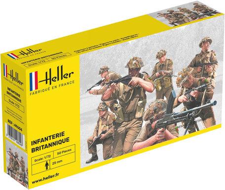 Heller British Infantry 1:72