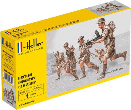 Heller British Infantry 8th Army 1:72