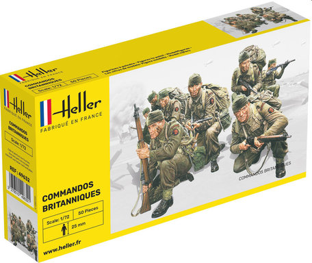 Heller British Commando Forces 1:72
