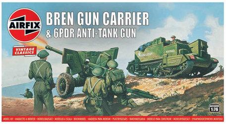 Airfix Bren Gun Carrier & 6PDR Anti-Tank Gun 1:76