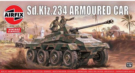 Airfix SDKFz.234 Armoured Car 1:76