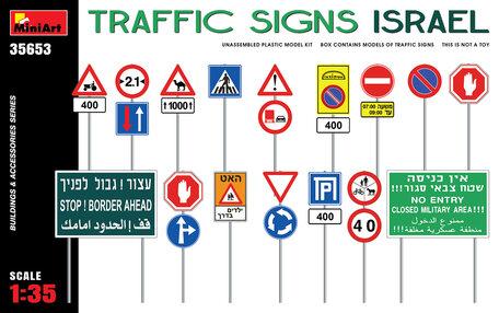 MiniArt Traffic Signs Israel 1:35
