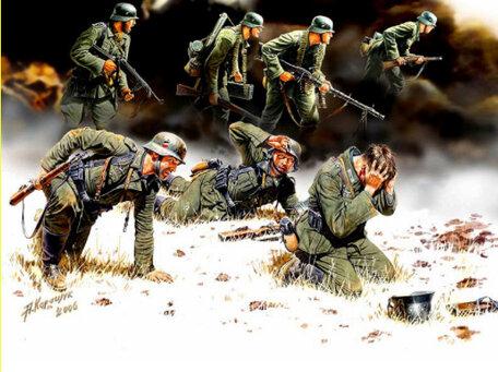 Master Box German Panzergrenadiers 1:35